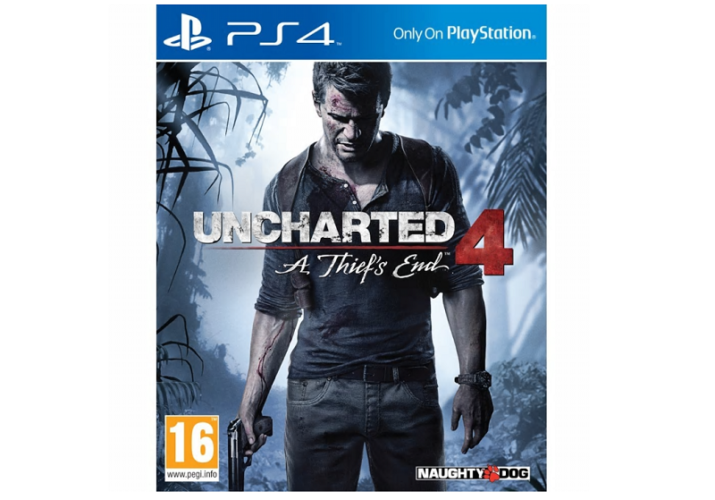 Begrænset antal! Uncharted 4: A Thief´s End Til PS 4